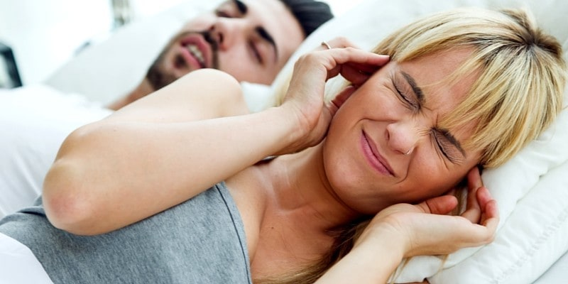 Snoring Husband and How to Stop Him Snoring