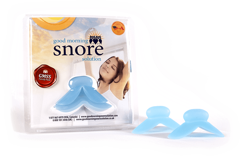 Good Morning Snore Solution product pack