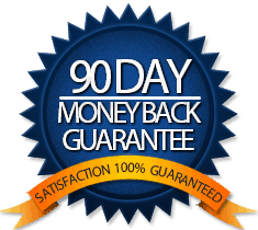 90 Day Money Back Guarantee!